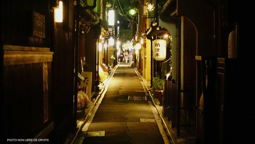 Ponto-Chô, Kyoto, photo non libre de droits