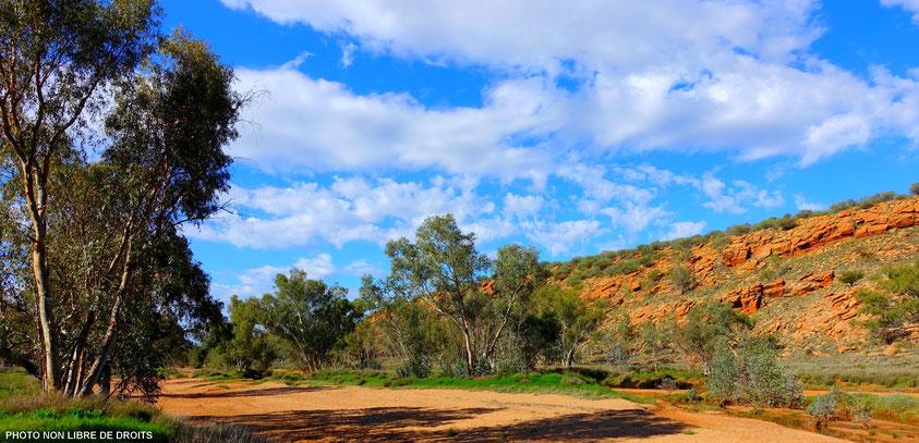 Balade à Alice Springs, Australie, photo non libre de droits