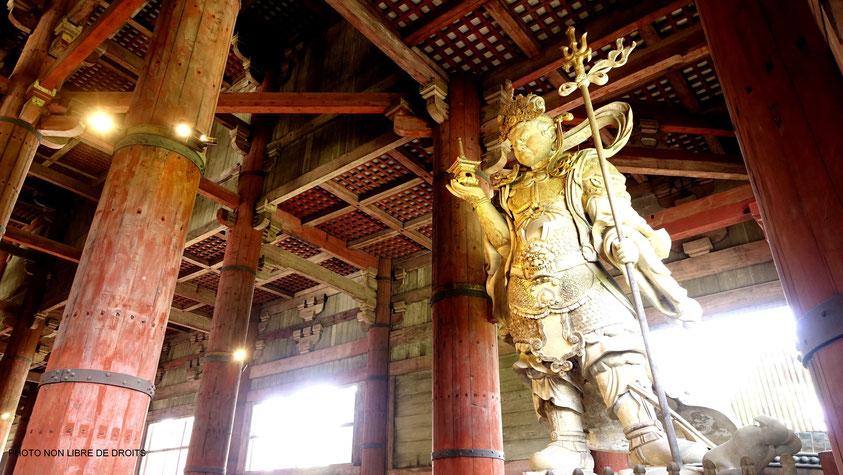 Gardien de Bouddha, Tödai-Ji, Japon, photo non libre de droits