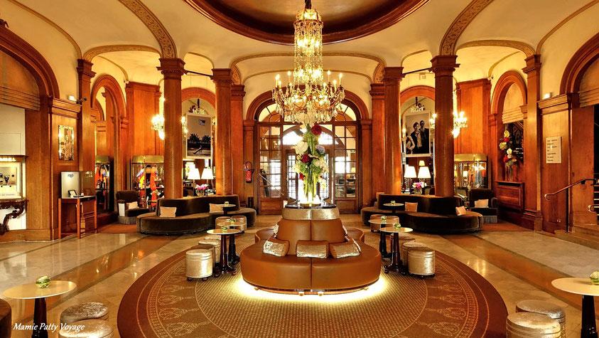 Intérieur nuit, hôtel Normandy Barrière, photo non libre de droits