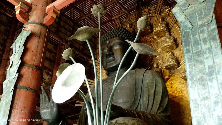 Vairocana le Bouddha absolu, Nara, Japon, photo non libre de droits