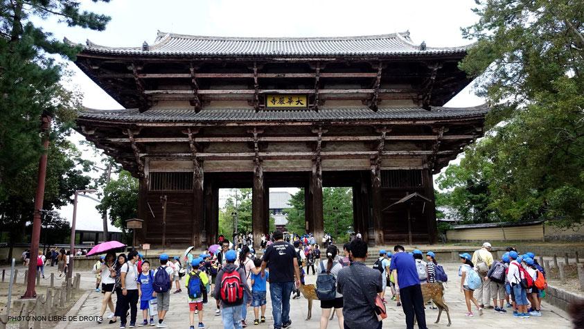 Nandai-Mon, Tödai-Ji, Nara, photo non libre de droits