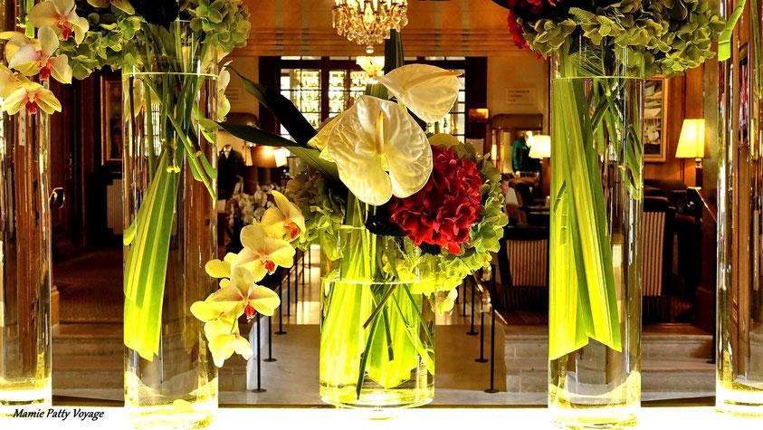 Fleur musicale, hôtel Normandy, Deauville, photo non libre de droits