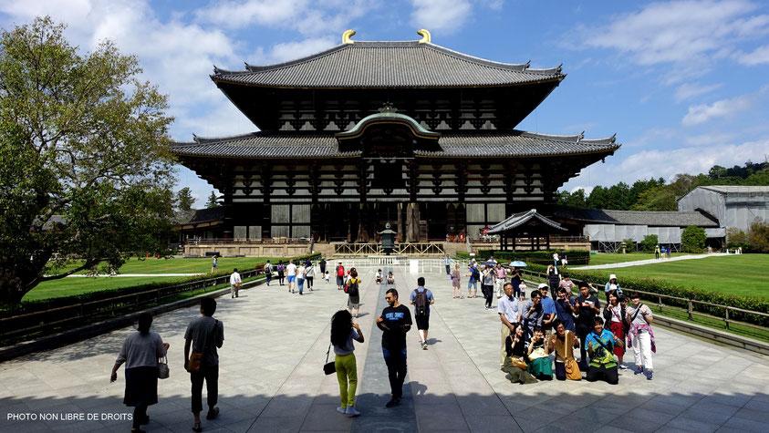 Immortalisation à Daibutsu-Den, Japon, photo non libre de droits