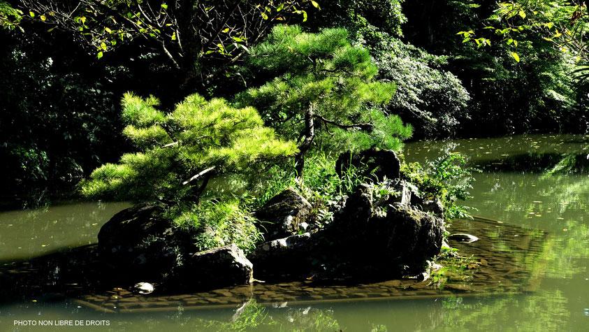 Kenroku-En, le jardin aux 6 attributs, Kanazawa, photo non libre de droits