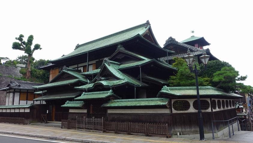 La face cachée de Dôgo Onsen, ile de Shikoku, photo non libr