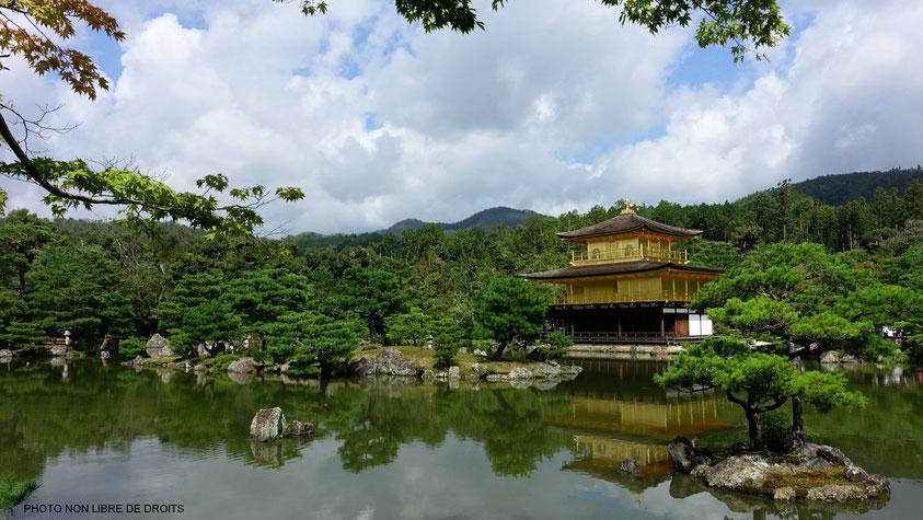 Rokuon-Ji, Kyoto, photo non libre de droits