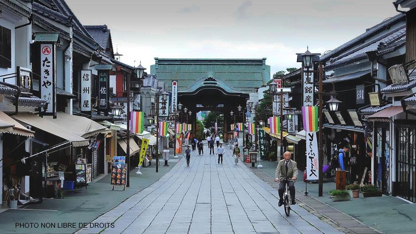 Echoppes japonaises, Nagano, photo non libre de droits