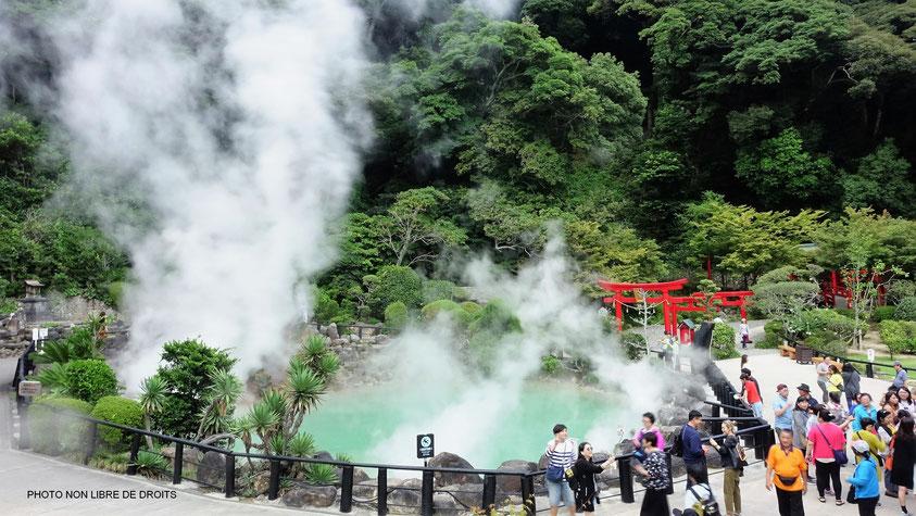 Umi Jigoku, Beppu, photo non libre de droits