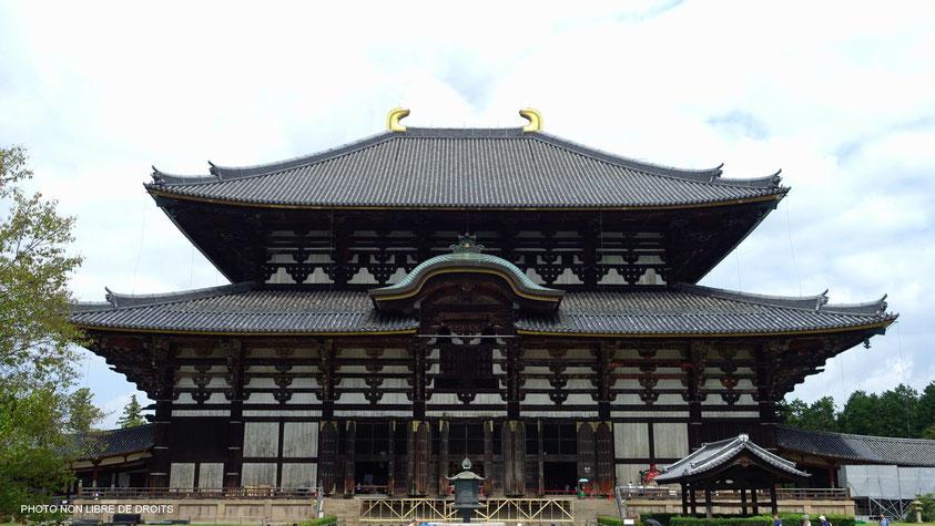 Daibutsu-Den, Nara, photo non libre de droits