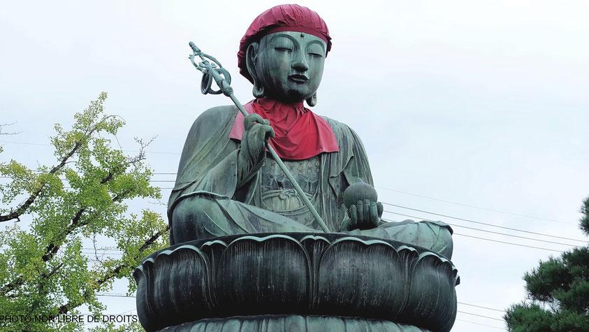 Statue Zen, Nagano, photo non libre de droits