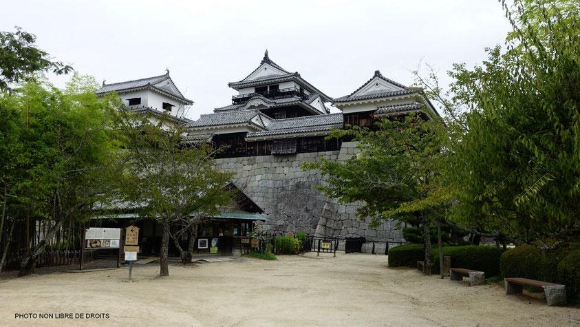 Matsuyama-Jô, île de Shikoku, photo non libre de droits