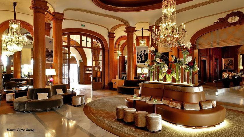 Intérieur jour, hôtel Normandy Barrière, photo non libre de droits