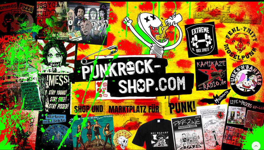 Zebraspider in the Punkrock-Shop! - punk onlineshop and marketplace for music and merch - Zebraspider Eco Anti-Fashion Blog