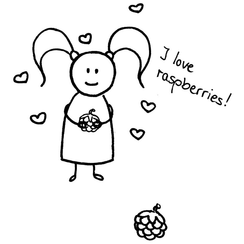 Beatrice Winkel - Trixilie loves raspberries