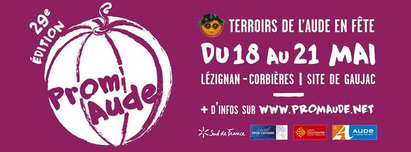 Visuel PromAude 2018 à Lézignan