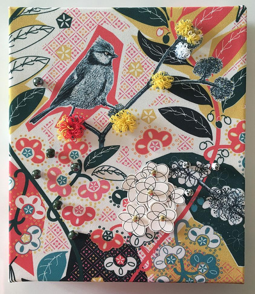stampa su tessuto, lana, ceramica, china su carta, ottone