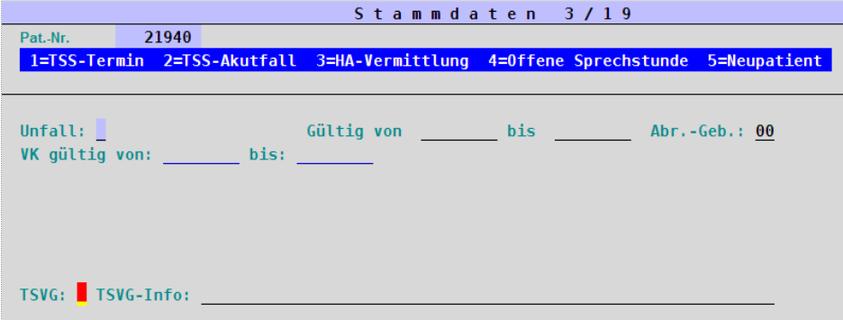 abasoft EDV-Programme GmbH EVA elektronisch verwaltete Arztpraxis Stammdaten TSVG Terminservice- und Versorgungsgesetz Kennzeichnung Abrechnungsscheine