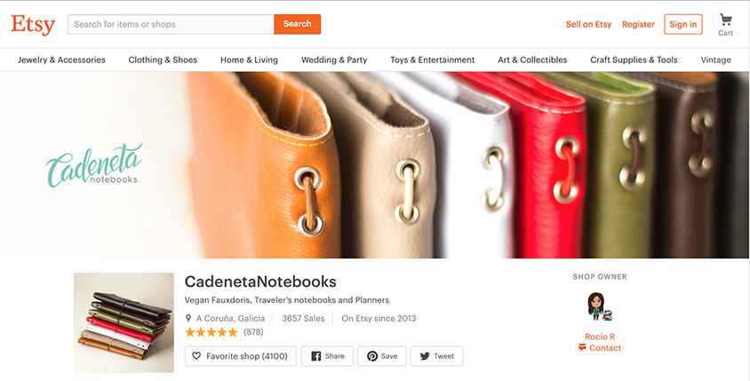 cadeneta notebooks