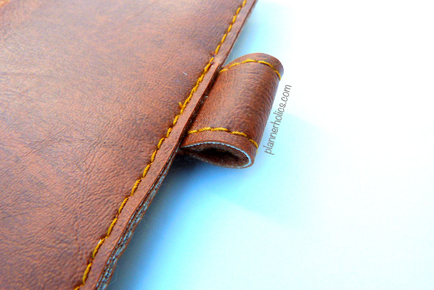 vegan traveler´s notebook with pen loop