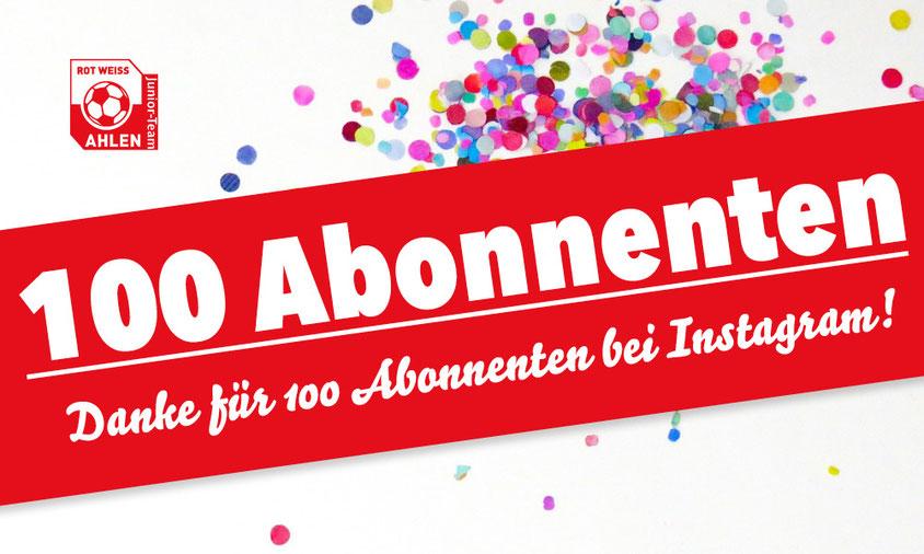 Rot Weiss Ahlen Junioren Instagram Account