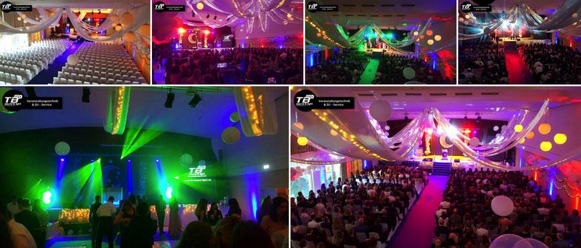 Abiball 2019 der IGS Kastellaun in der Stadthalle Tivoli! Veranstaltungstechnik + DJ Service für euren Abiball !