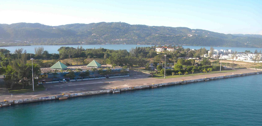 Cruise Terminal von Montago Bay