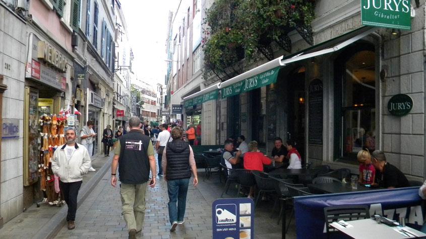 Innenstadt von Gibraltar