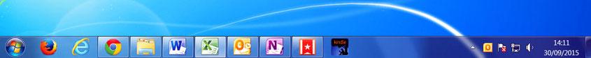 Organiza los programas que tizas más en tu barra de tareas - AorganiZarte