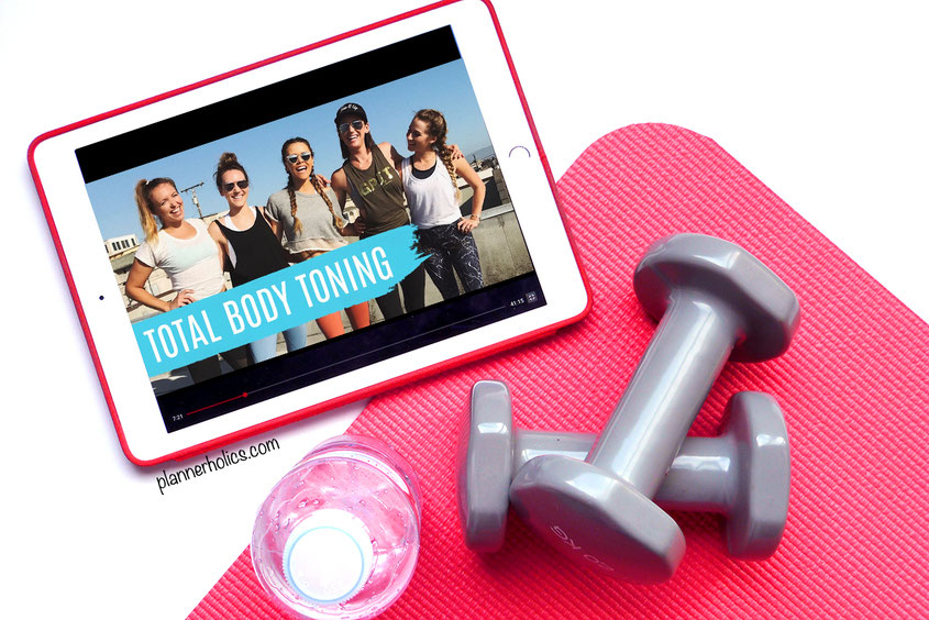 Tone It Up total body toning free workouts on youtube