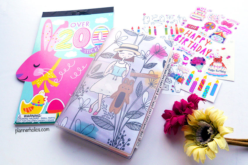 jibun techo b6 slim planner in a new spring paper cover