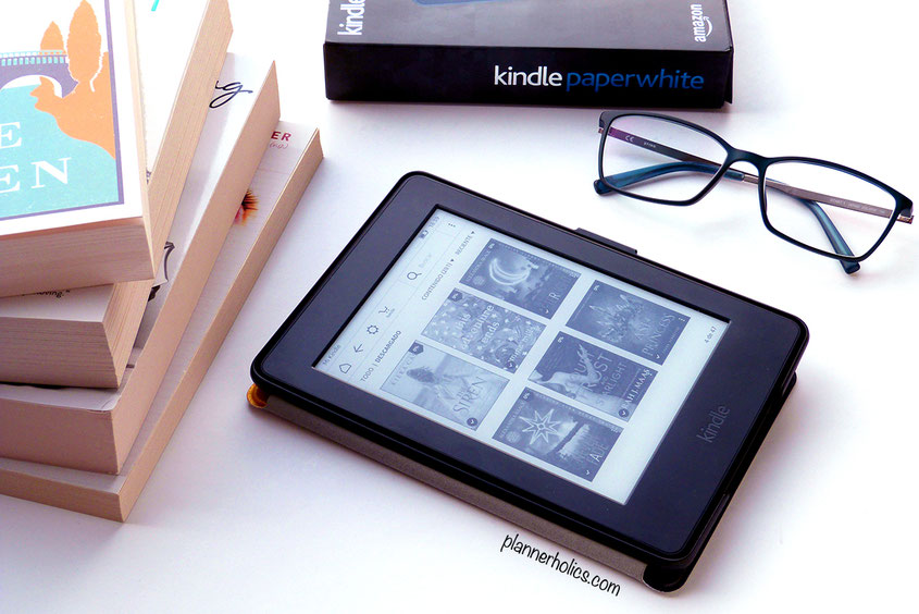 amazon kindle paper white e-reader for ebooks