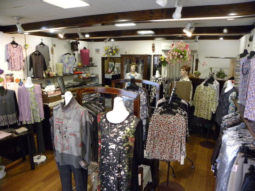 タカムラ洋品店 お洒落なミセスファッション