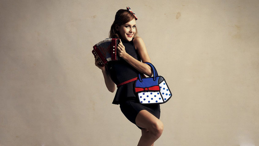 Freaky Friday | Jump From Paper Crazy Fashion Bags