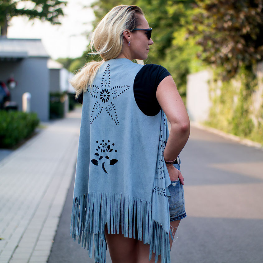 Outfit | Festival Style 2017 | Denim & Fringes | hot-port.de | 30+ Style Blog