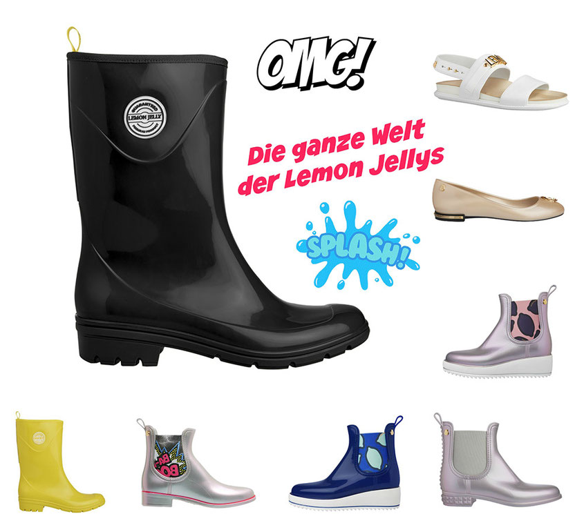 Lemon Jellys Big Bang Badaboom | Stylishe Boots für verregnete Festival Tage | hot-port.de | Lifestyle Blog