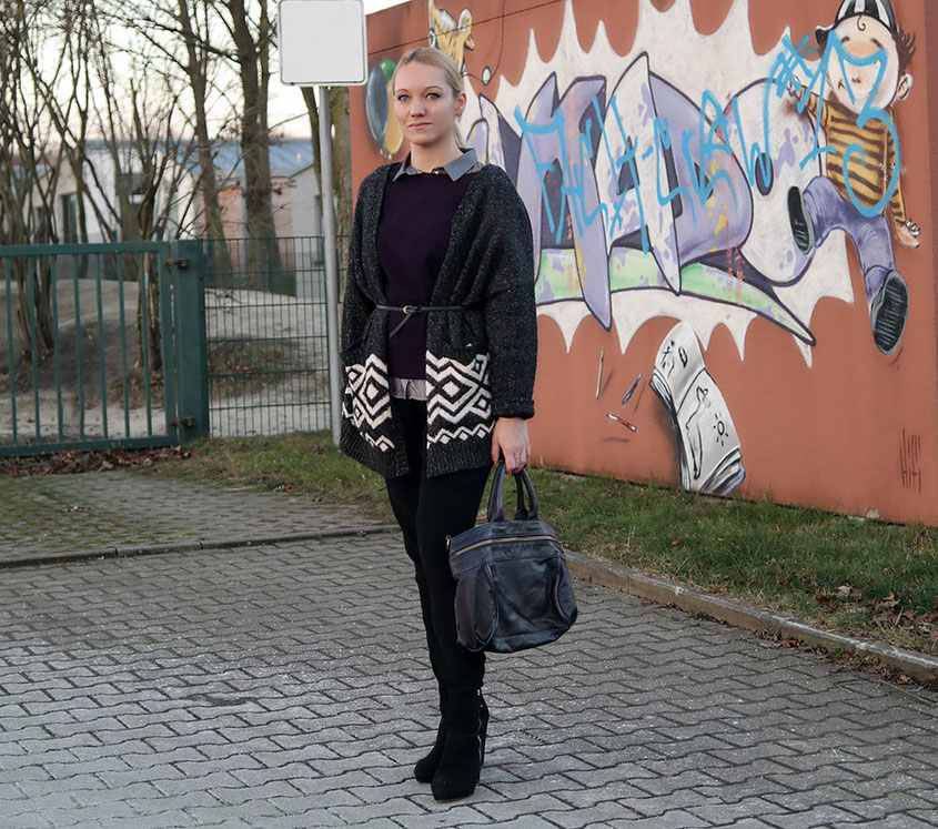 Bohemian Wrapsody | Outfit Lagenlook Winter 2016
