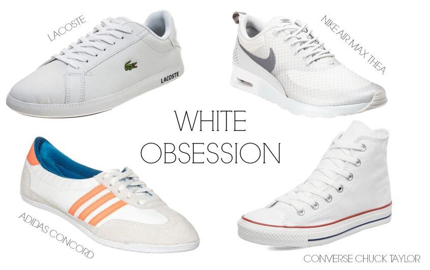 Sneaker Freaker | Sneaker Trends 2014 | weiße sneaker
