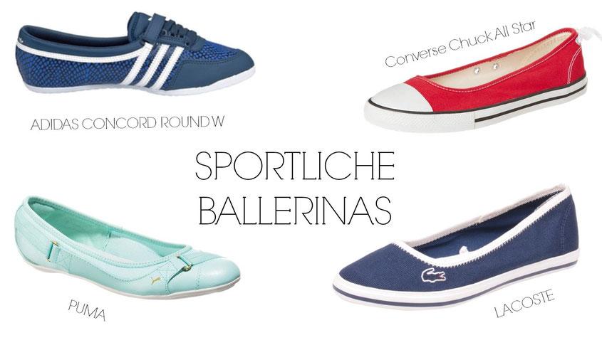 Sneaker Freaker | Sneaker Trends 2014 | sportliche Ballerinas