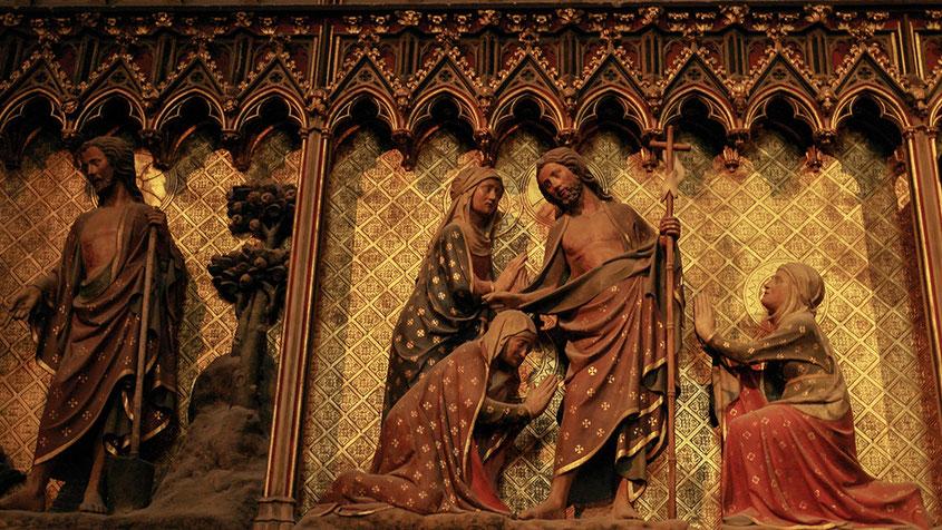 Notre Dame | Jesus Bild | Jesus und seine Jünger