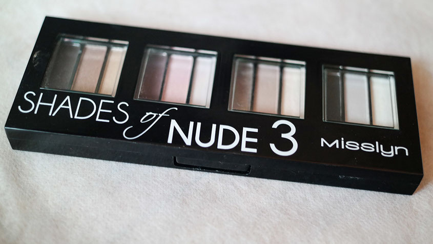 Misslyn Shades of Nude MakeUp Palette 3 | hot-port.de | Lifestyle Blog
