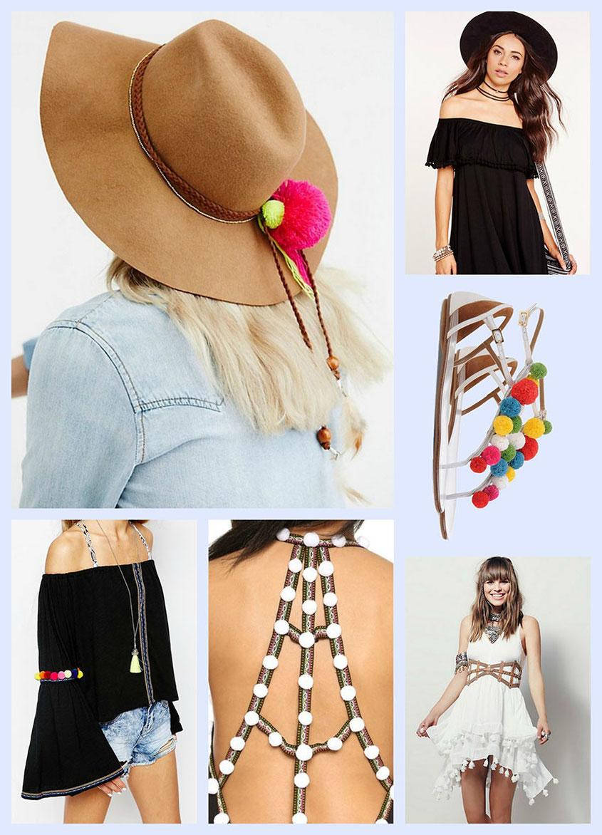 Style Trend eines jeden Sommers | Pom Poms in allen Farben | hot-port.de | Lifestyle & Modeblog
