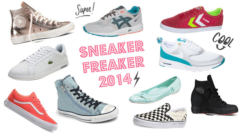 Sneaker Freaker | Die Sneaker Trends 2014 und was an sportlichen Schuhen gerade schwer angesagt ist. Getreu dem Motto: Shoes are boring, wear sneakers | Hot Port Life & Style | 30+ Style Blog