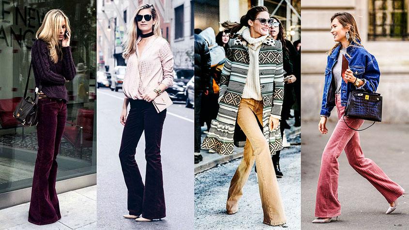 Style Trend Schlaghose aus Cord | Jetzt werden die Seventies wieder vollends salonfähig | hot-port.de | 30+ Style Blog