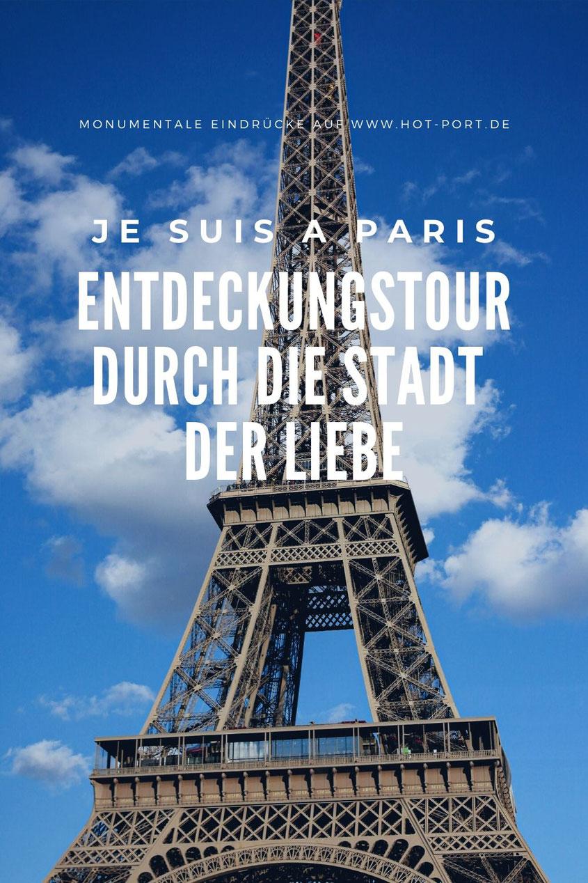 Der Eiffelturm in Paris: Imposantes Wahrzeichen, Treffpunkt für Verliebte & Tourismus Magnet. Wer dem Eiffelturm in der Stadt der Liebe nicht mindestens einen Besuch abstattet, ist vermutlich kein echter Touri. Wie gut, dass Paris darüber hinaus noch wesentlich mehr zu bieten hat | Hot Port Life & Style | 30+ Lifestyle Blog