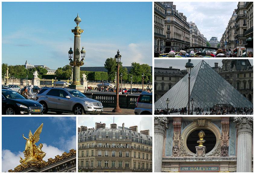 Hot Spot Paris | Goldene Engelsstatue auf dem Dach der Pariser Garnier Oper