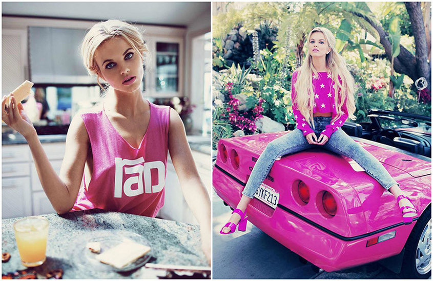I love the Wildfox Lifestyle Lookbooks | Wildfox Resort 2015 Barbies Dreamhouse