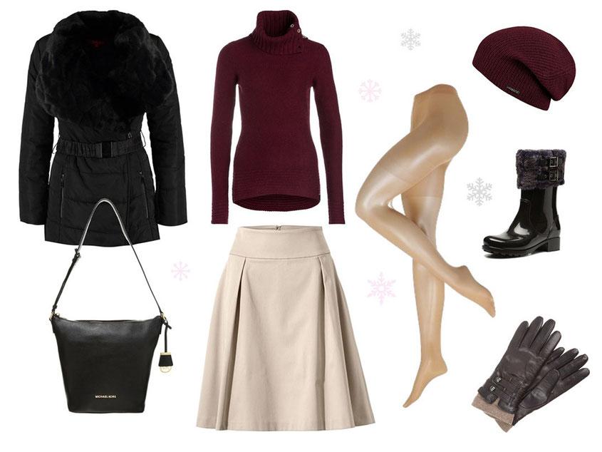 Outfit Inspiration | Coole Styles für kühle Tage & den Schnee | hot-port.de 30+ Lifestyle Blog