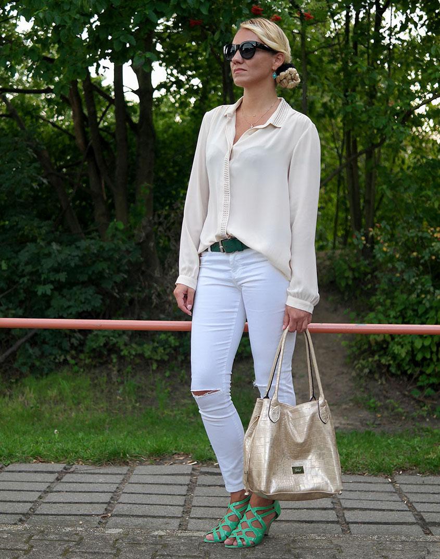 Fashion Outfit Creme de la Creme Franny Fine | Helle Farben fuer den Sommer
