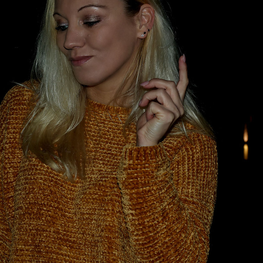 Outfit | Pepe Leandra Chenille Pulli in Senfgelb | hot-port.de | 30+ Style Blog